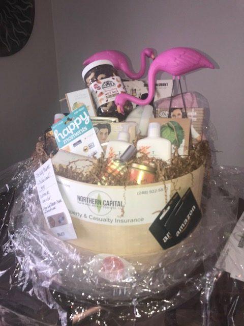 Second Prize Basket